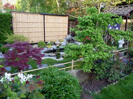 ralisation dun takegaki photo 2 - Jardin Japonais En Pente